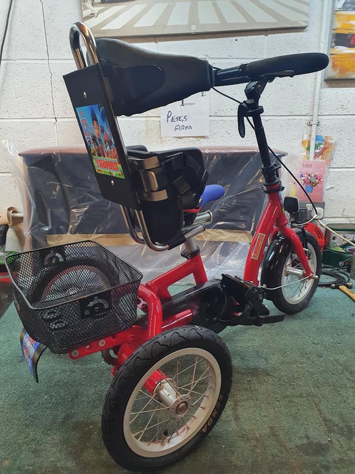 Kid's Trike Trimmed!